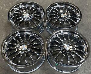 """Verde 17"""" Chrome Aftermarket Wheels Rims V52-77 #2795"""