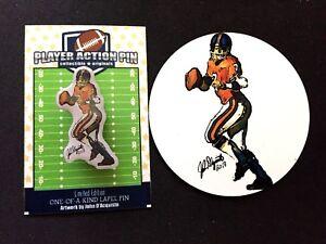 Denver Broncos John Elway jersey lapel pin & magnet-Collectibles-#1 Best Seller