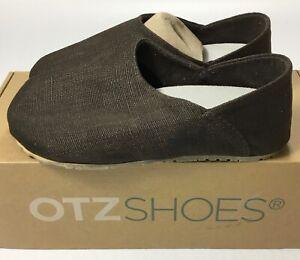 Women OTZ 300GMS Slip On Shoes Coarse Linen 3702 Tmoro Brown EU 37 US Size 7