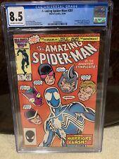 Amazing Spider-Man #281 CGC Graded 8.5 Marvel October 1986 Comic Book.