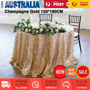 120*180cm Glitter Sequin Tablecloth Table Cloth Wedding Party Decor Rectangular