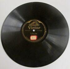 "ANTIQUE 78 RECORD: VICTOR ""TO MY DOG""  ""MICKEY THE PUM PUM MAN""  BILLY V. VAN"