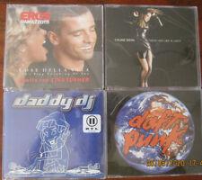 4 x MaxiCD, Eros Ramazotti, Daddy DJ, Celine Dion, Daft Punk , Neuwertig
