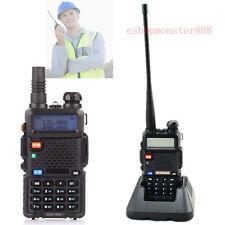 Walkie Talkie 2-Way Radio Long Range VHF/UHF Transceiver Compact Hand Held Set