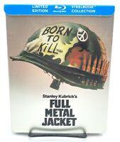 Full Metal Jacket [Limited Edition Steelbook Bluray] [Rare OOP] Stanley Kubrick