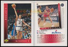 NBA UPPER DECK 1993/94 - Rex Chapman # 65 - Bullets - Ita/Eng - MINT