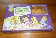 University Games Five Little Monkeys Jumping On the Bed Game -97% Complete