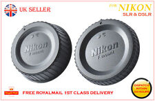 Body and Rear Lens Cap Cover for All Nikon Camera  D70 D80 D90 D3000 D3200 D3300