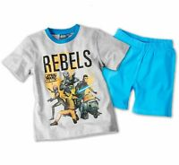 Star Wars Kinder Shorty-Set Pyjama Baumwolle Nachtwäsche Schlafanzug Kleinkinder