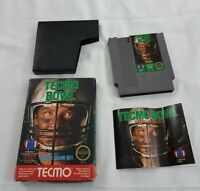 Tecmo Bowl  Nintendo Entertainment System NES COMPLETE
