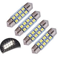 4 ampoules à LED pour auto navettes 36 mm éclairage intérieur plafonnier