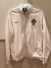 Nike 2012 Portgual Cristiano Ronaldo Soccer Vintage N98 Jacket White L Rare BNWT