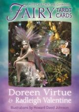 Fairy Tarot Cards : A 78-Card Deck and Guidebook by Radleigh C. Valentine and Doreen Virtue (Cards,Flash Cards)