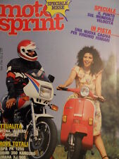 Motosprint 29 1983 Test Piaggio Vespa PK 125 S - Yamaha XJ 900  [SC.31]