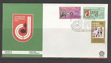 INDONESIA 1981 FDC SHP 86 JAMBOREE SCOUTING + BLANK