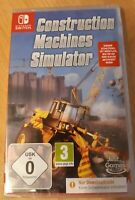 NEU Nintendo SWITCH Spiel Baumaschinen Construction Machines Simulator Download