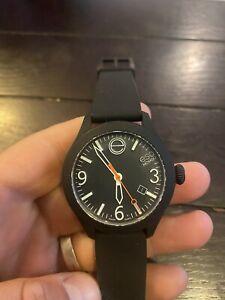 ESQ by Movado Mens Swiss Quartz Rubber Strap Watch ES.50.1.29.5666