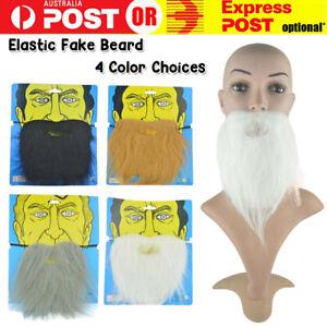 Fake Elastic Beard Moustache Funny Santa Halloween Fancy Party Dress Up Costume