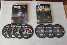 Resident Evil VII Biohazard  PC DVD BOX + Resident Evil VII GOLD PC DVD BOX