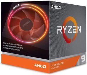 AMD Ryzen 9 3900X 12-core, 24-thread unlocked desktop processor with Wraith Pris
