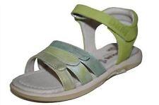 Scarpe Sandali verde per bambine dai 2 ai 16 anni dal Perù