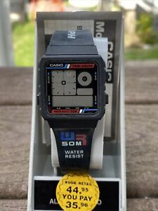 VINTAGE 1989 CASIO AE-20W [588] CASIO WATCH TWIN-GRAPH 50M DIGITAL LCD WATCH