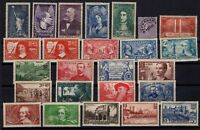 PP137249/ FRANCE – YEARS 1927 - 1938 MINT MNH / MH SEMI MODERN LOT – CV 155 $