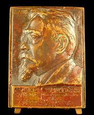 Médaille Belgique à l'homme politique Joseph Wauters sc Dolf Ledel 1929 medal