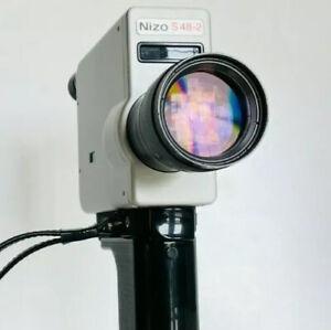 Braun Nizo S48-2 Super 8 Camera Fully Working / Film Tested
