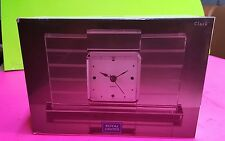 Mantle Clock-ROYAL LIMITED CRYSTAL-24% Full Lead CRYSTAL Handcut-Works GREAT!