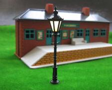 10pcs Model Railway LED Lamppost Lamps Antique Street Lights O Scale 1:50