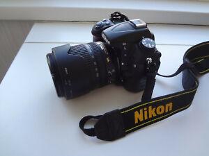 Nikon D7000 16.2MP Digital SLR Camera With 2 Lens18-105 mm, 50 mm + Bag + access