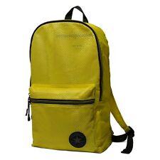 CONVERSE NEUF Homme / FEMMES jaune sac à dos maille Compressible avec étiquette