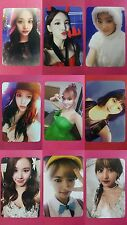 LOT of 9 TWICE Official Photocard Normal Ver. 3rd Album TWICEcoaster : LANE1 TT