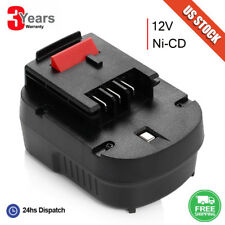 For Black&Decker HPB12 12V Firestorm FSB12 A12 FS120B A12-XJ A12EX Slide Battery
