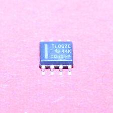 50 STK. TL062CD - TEXAS INSTRUMENTS - DUAL Op-Amp  - SO-8 - 50pcs