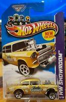 "Hot Wheels /'55 Chevy /""Black Widow/"" Gasser CUSTOM GOLD METALLIC Decal SCR-0009"