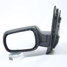 Ford Fiesta MK6 2002-2005 Manual Black Wing Door Mirror Passenger Side Left