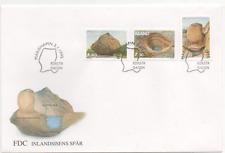 """Åland 1995 Mi. 92/94 Ersttagsbrief """"Gesteinsformationen"""" ; FDC stone formations"""