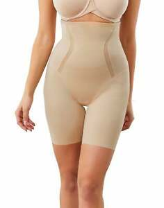 Maidenform High Waist Thigh Slimmer Cool Comfort Anti-Static Shapewear Smoothing