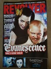 """Evanescence Fallen 2003 Revolver Magazine Promo Only Poster Amy Lee / 18"""" X 28"""""""