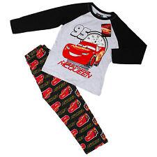 Boys Kids Disney Pixar Lightning McQueen Roary Racing Cars Pyjamas PJs Nightwear