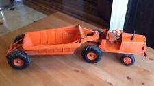 Vintage 1950s Doepke Euclid Toy Bottom Dump Truck Dirt Earth Hauler