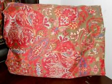Gorgeous RALPH LAUREN GALAHAD paisley KING Fitted SHEET