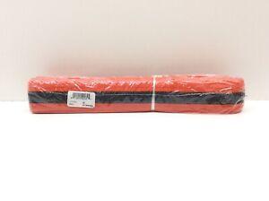 Century Double Wrap Black Stripe Belt Size 3 Orange