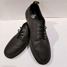 Doc Dr. Martens Pressler Size Mens 13 Casual Shoes Black Leather Fashion Style