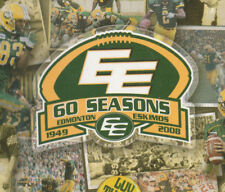 CFL Football Media Guides Lot of 3 Edmonton Eskimos 2007, 2008, 2010 + Digital