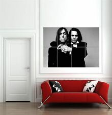 Johnny Depp Iggy Pop Group Portrait Giant Wall Art New Poster Print Picture