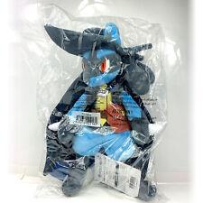 "Pokemon Center Halloween Lucario Limited 13"" Plush Stuffed Animal USA+ Free Card"