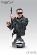 RARE Buste T-800 Terminator 2 Arnold Schwartzeneger 242/1000 Sideshow 25 cm